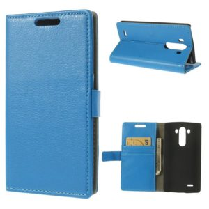 LG G3 Sininen PU-Nahka Lompakko Suojakotelo