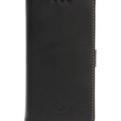 Nokia Lumia 730 / 735 Musta Insmat Nahkakotelo
