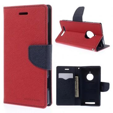 Nokia Lumia 830 Punainen Fancy Suojakotelo