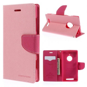 Nokia Lumia 830 Vaaleanpunainen Fancy Kotelo