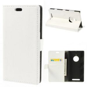 Nokia Lumia 830 Valkoinen Lompakkokotelo Suoja