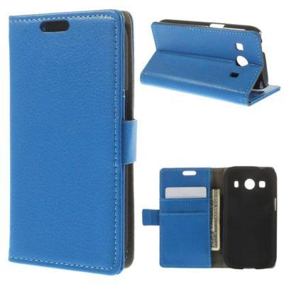 Samsung Galaxy Ace 4 Sininen Lompakkokotelo