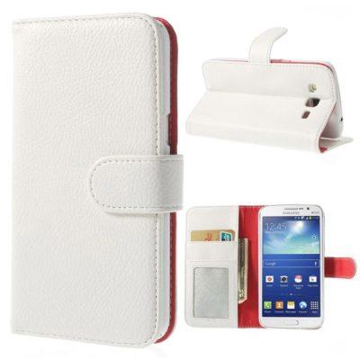 Samsung Galaxy Grand 2 Valkoinen Lompakkokotelo