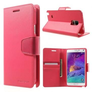 Samsung Galaxy Note 4 Pinkki Sonata Suojakotelo