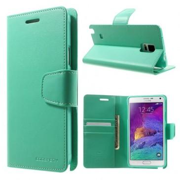 Samsung Galaxy Note 4 Syaani Sonata Suojakotelo