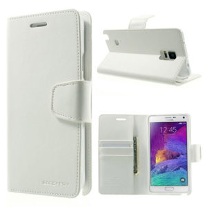Samsung Galaxy Note 4 Valkoinen Sonata Suojakotelo
