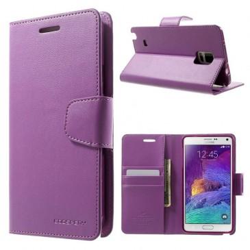 Samsung Galaxy Note 4 Violetti Sonata Suojakotelo