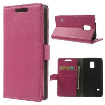 Samsung Galaxy S5 Mini Pinkki Lompakkokotelo