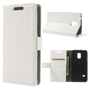 Samsung Galaxy S5 Mini Valkoinen Lompakkokotelo
