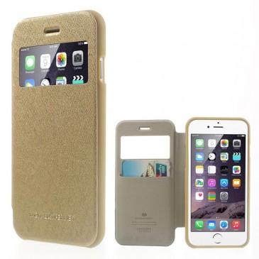 Apple iPhone 6 / 6S Kultainen Wow Bumper Suojakuori