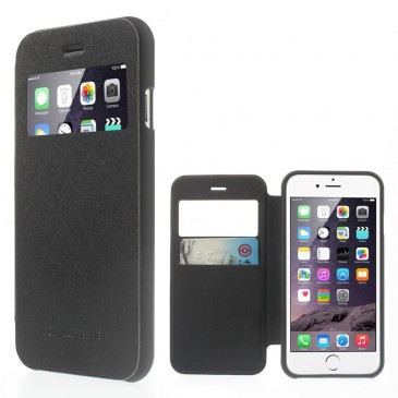 Apple iPhone 6 / 6S Musta Wow Bumper Suojakuori