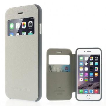 Apple iPhone 6 / 6S Valkoinen Wow Bumper Suojakuori