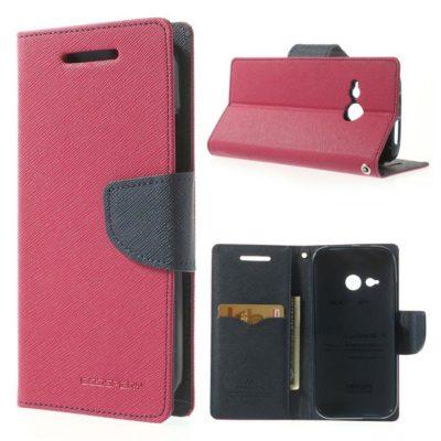 HTC One Mini 2 Pinkki Fancy Lompakko Suojakotelo