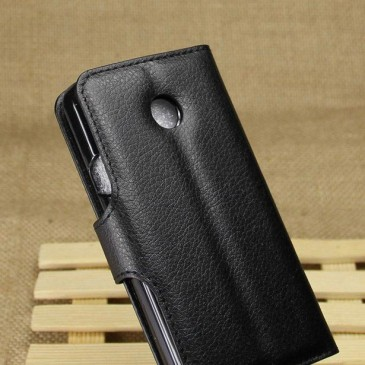Huawei Ascend Y330 Musta Lompakko Suojakuori