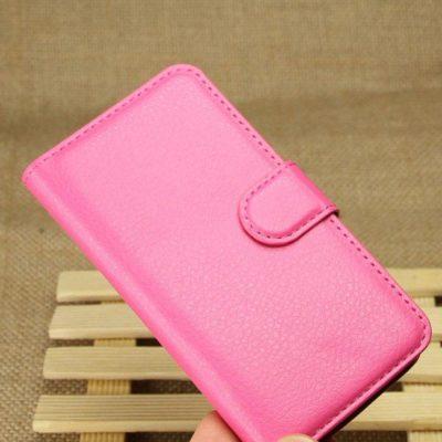 Huawei Ascend Y330 Pinkki Lompakko Suojakuori