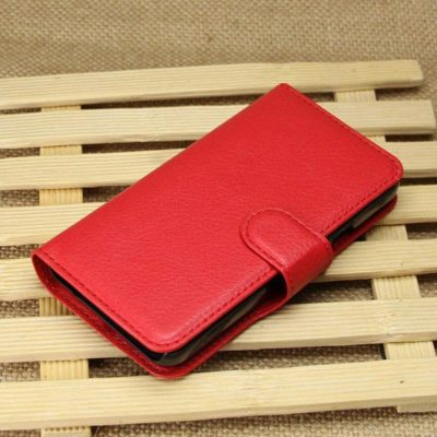 Huawei Ascend Y330 Punainen Lompakko Suojakuori
