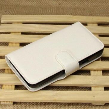 Huawei Ascend Y330 Valkoinen Lompakko Suojakuori