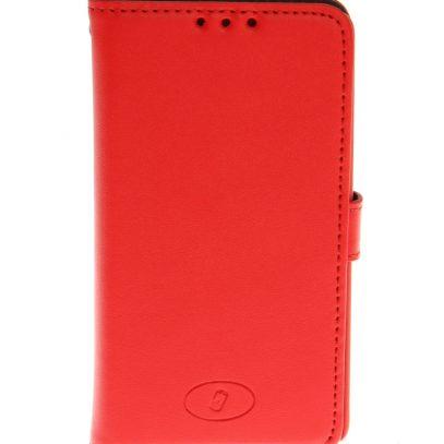 LG F60 Punainen Insmat Nahka Lompakko Suojakotelo