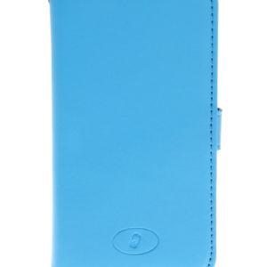 LG F60 Sininen Insmat Nahka Lompakko Suojakotelo