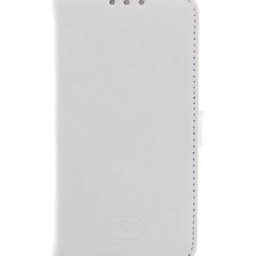 LG F60 Valkoinen Insmat Nahka Lompakko Suojakotelo