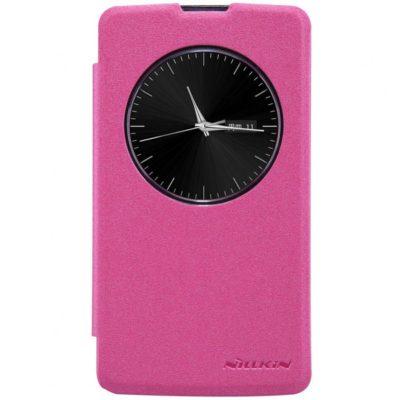 LG L Bello Pinkki Nillkin Sparkle Suojakotelo