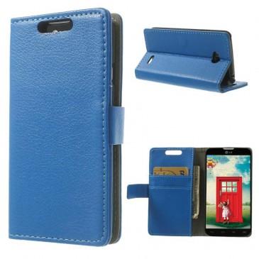 LG L70 Sininen PU-Nahka Lompakko Suojakotelo
