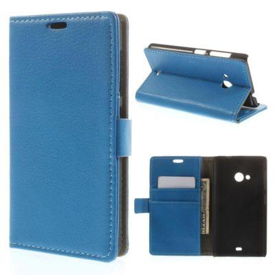 Microsoft Lumia 535 Sininen Lompakko Suojakotelo