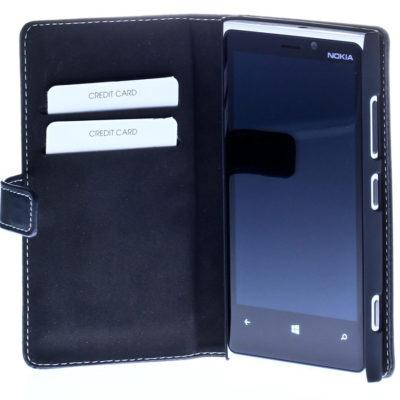 Nokia Lumia 920 Musta Insmat Nahkakotelo