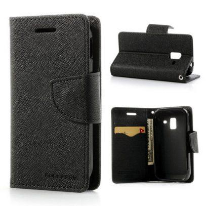 Samsung Galaxy Ace 2 Musta Fancy Suojakotelo
