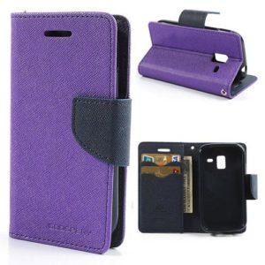 Samsung Galaxy Ace 2 Violetti Fancy Suojakotelo