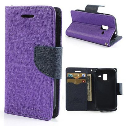 Samsung Galaxy Ace 2 Violetti Fancy Suojakotelo