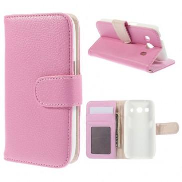 Samsung Galaxy Ace 4 Vaaleanpunainen Suojakuori
