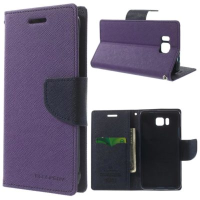 Samsung Galaxy Alpha Violetti Fancy Suojakotelo