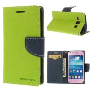 Samsung Galaxy Core Plus Vihreä Fancy Suojakotelo