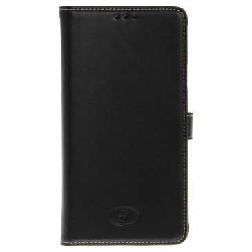 Samsung Galaxy Note 4 Musta Insmat Nahkakotelo