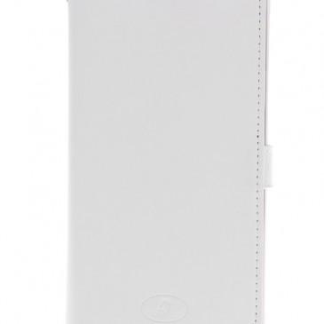 Samsung Galaxy Note 4 Valkoinen Insmat Nahkakotelo