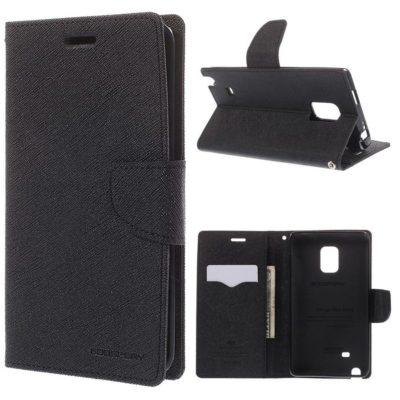 Samsung Galaxy Note Edge Musta Fancy Suojakotelo