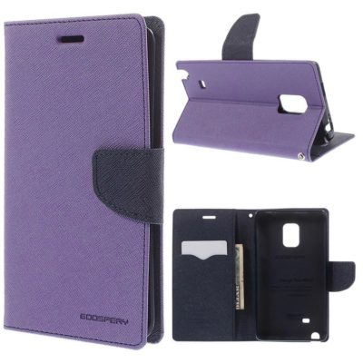Samsung Galaxy Note Edge Violetti Fancy Suojakotelo