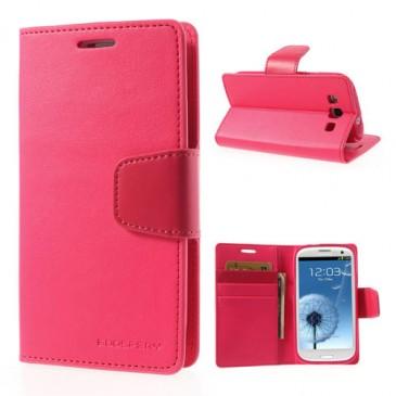 Samsung Galaxy S3 Pinkki Sonata Suojakotelo
