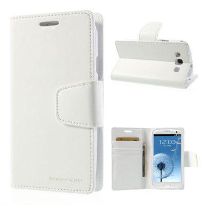 Samsung Galaxy S3 Valkoinen Sonata Suojakotelo