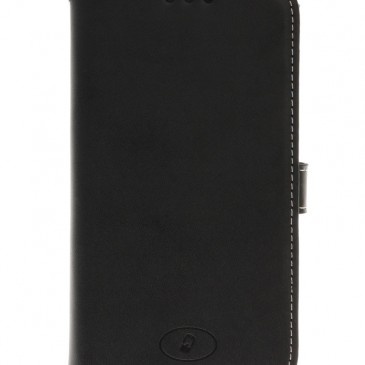 Samsung Galaxy S5 Active Musta Insmat Nahkakotelo