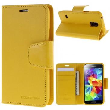 Samsung Galaxy S5 Keltainen Sonata Suojakotelo