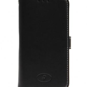 Samsung Galaxy S5 Mini Musta Insmat Nahkakotelo