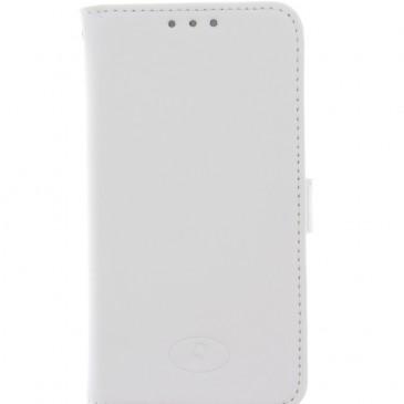 Samsung Galaxy S5 Mini Valkoinen Insmat Nahkakotelo