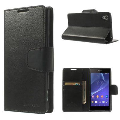 Sony Xperia Z2 Musta Sonata Suojakotelo