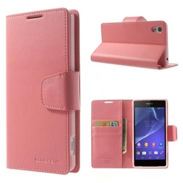 Sony Xperia Z2 Vaaleanpunainen Sonata Suojakotelo