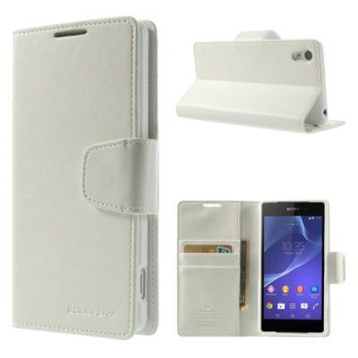Sony Xperia Z2 Valkoinen Sonata Suojakotelo