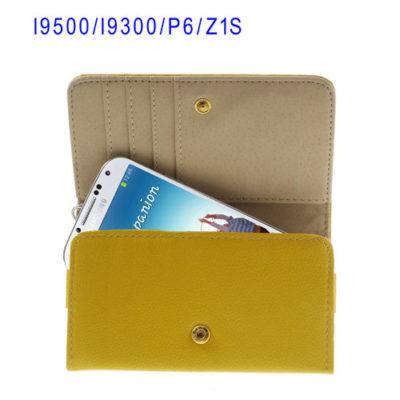 Keltainen Yleismallinen Lompakko Suojakotelo