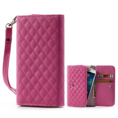 Pinkki Yleismallinen Lompakkokotelo Rhombus