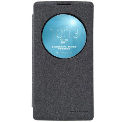 LG Spirit 4G LTE Musta Nillkin Sparkle Kotelo